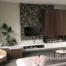 stijlvol haardmeubel met verlichting en tv-meubel